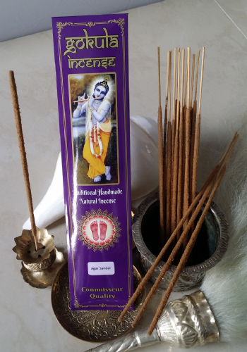 Agar Sandal Incense Sticks - 20 grams
